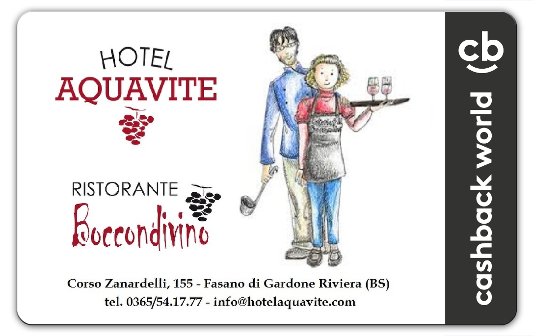 Hotel Aquavite CB Card